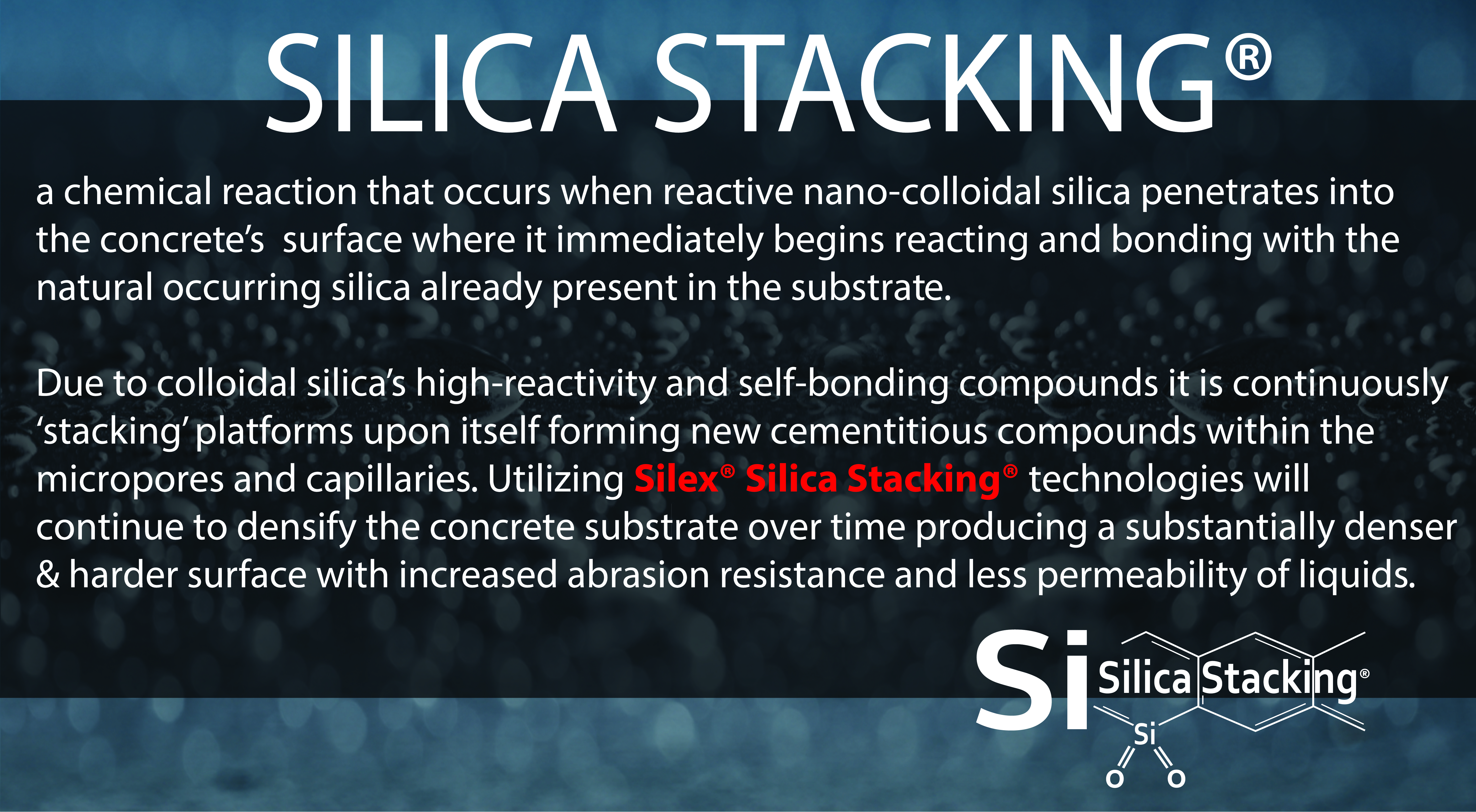 Silica Stacking