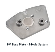 PM Base Plate - 3 Hole System